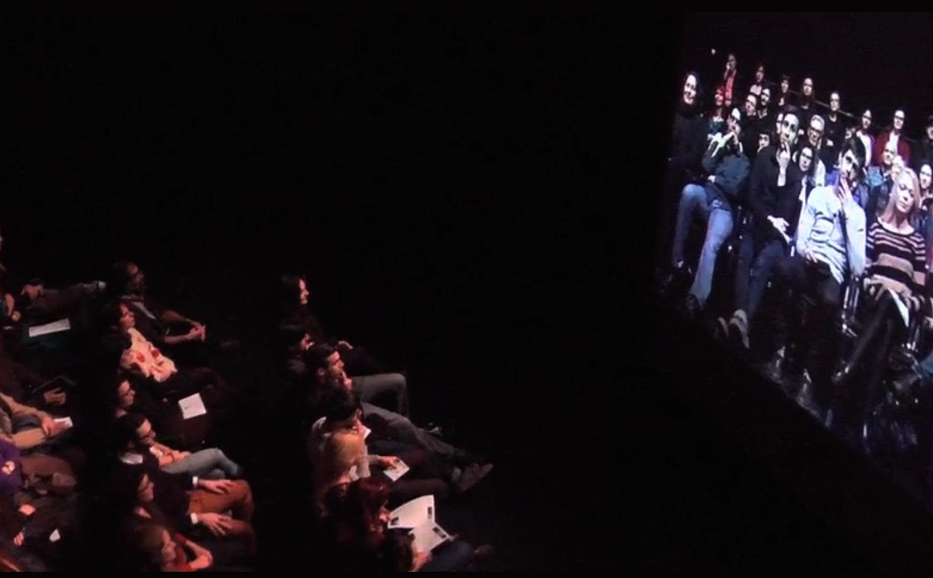 Image tirée d'une vidéo de Josiane Roberge