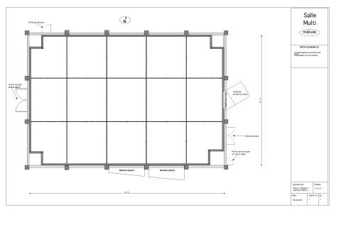 Salle Multi - Plan