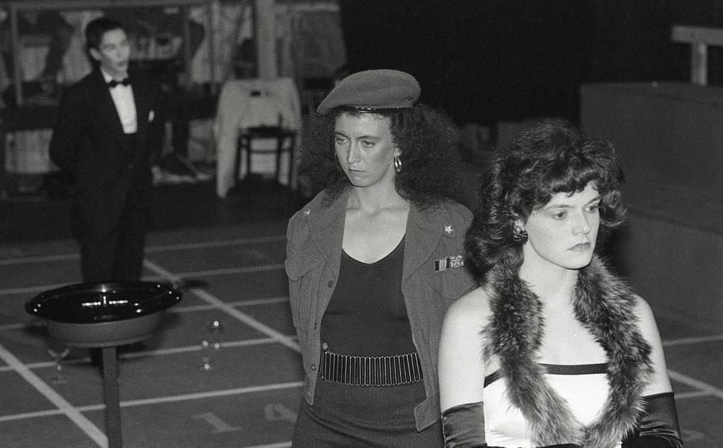 Pascale Landry, Brigitte Michaud, Andrée Desjardins